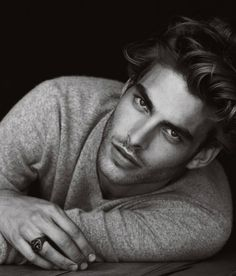 Jon Kortajarena _ by Peter Lindbergh for David Yurman, 2011 _ *that bone structure though*