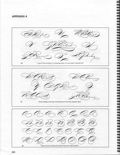 Spencerian Script and Ornamental Penmanship Volume I, Chapters 1,2, and 8 Michael R. Sull, 1989