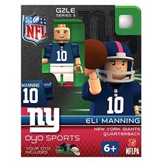NFL New York Giants Eli Manning Gen 2 Mini Figure, Small OYO http://www.amazon.com/dp/B00MI8LS76/ref=cm_sw_r_pi_dp_K39Dub0JGAFXS