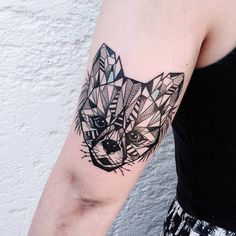 You'll Love these Geometric Animal Tattoos
