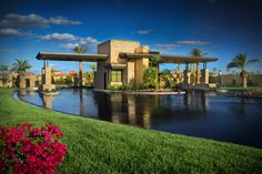 Rhodes Ranch in Las Vegas is a gated community.  You will arrive at your new home knowing you will be secure.  Call today for more information: 702-740-4111.  Pictured:  Guards Gate, Rhodes Ranch, Las Vegas, NV