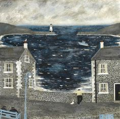 Every day we comes down ere/ And he leans upon the wall/ He forgets I'm only 2 foot 3/  I can't see nothing at all....  Gary Bunt | The Harbour Wall