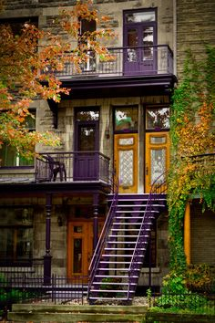 Montréal - Untitled by Martin Bernier on Montreal Ville, Montreal Quebec, Quebec City, Montreal Architecture, Beautiful Homes, Beautiful Places, Belle Villa, City Scene, Urban Setting