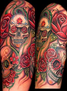 Skull Tattoos | Skull Tattoo Picture 7 | Tattoo Training Sites