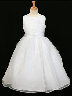 White Glitter Bodice Dress Style: D5542 $119.99 White http://www.paraprinting.com