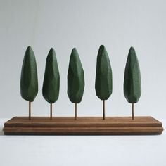 Fab.com | Cypress Trees Tabletop Forest: