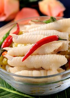 Chicken Feet with Pickled Peppers