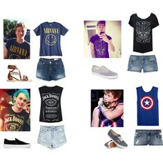 5sos preference- you steal his shirt