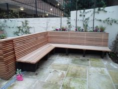 Image result for benches made from old cedar fencing