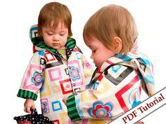 Easy Peasy Foto Tutorial - Regenjas voor kinderen van Bludor op DaWanda.com