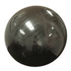 Max Fitness 75cm Exercise Ball with Foot Pump (Black) $16.91