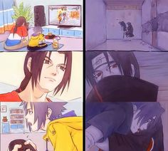 Itachi and Sasuke Uchiha possible Life ♠