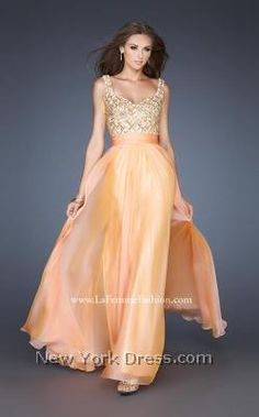 Shop La Femme evening gowns and prom dresses at Simply Dresses. Designer prom gowns, celebrity dresses, graduation and homecoming party dresses. Orange Prom Dresses, V Neck Prom Dresses, Homecoming Dresses, Evening Dresses, Dress Prom, Dress Long, Long Dresses, Formal Dresses, Formal Wear
