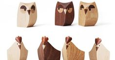 My Owl Barn: Owl Wooden Goodies from Japan