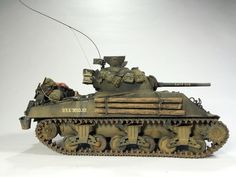 """Sherman M4A3 """"Lucy Sue"""" 1:35 by Daz (MModels)"""