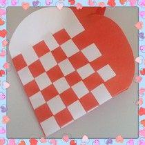 Hart vlechten ~ www.knutselboom.nl