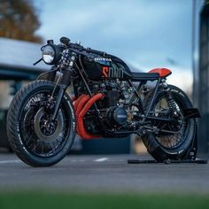 Honda CB550 Cafe Racer by NCT Motorcycles
