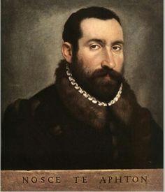 Giovanni Battista Moroni, ritratto di un uomo , olio su tela, 37,5 x 50 cm (Hermitage, San Pietroburgo)