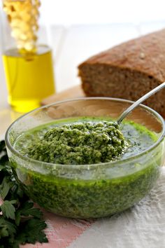 Bagnetto verde piemontese Salsa Verde, Italian Recipes, Vegan Recipes, Cooking Recipes, Sauces, Vegan Runner, Pesto Dip, Vegan Gains, Vegan Animals