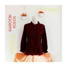 Saya menjual VIMALA Maroon Polos seharga Rp250.000. Dapatkan produk ini hanya di Shopee! https://shopee.co.id/echt.mooi/764634618/ #ShopeeID