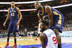 The Pelicans welcome the Philadelphia 76ers into The Blender
