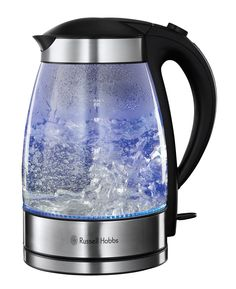 Russell Hobbs 15082-10 Illuminating Glass Kettle - Clear: Amazon.co.uk: Kitchen & Home