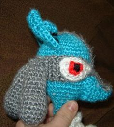 Bizzy Crochet: Pokemon Lucario Look-Alike