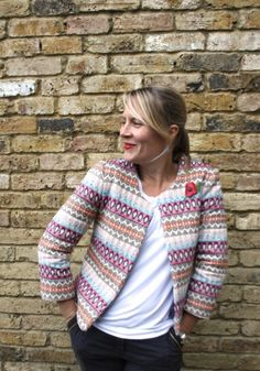 Coco jacket by Schnittchen (german based indie pattern company)