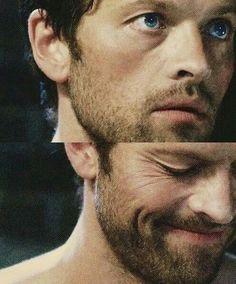 Misha Collins. Oh my god those eyes