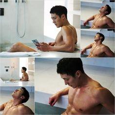 So Ji Sub in bathtub scenes for 'Oh My Venus'  O_o :))))