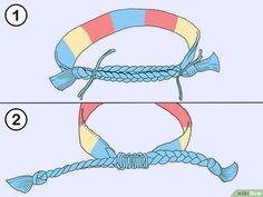 5cb18acd128d47 Tie Friendship Bracelets | Friendship bracelets | Friendship ...