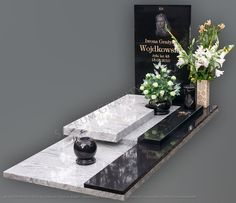 Tombstone Designs, Cemetery Headstones, Floating Nightstand, House Styles, Modern, Home Decor, All Saints Day, Grave Decorations, Monuments