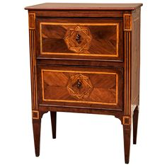 Two Drawer Petite Commode | From a unique collection of antique and modern commodes and chests of drawers