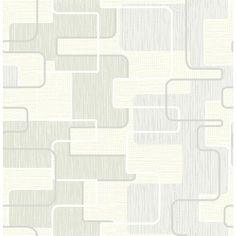 "Found it at Wayfair - 33' x 20.5"" Balise Geometric Wallpaper"