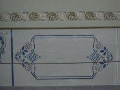 detalle de pintura decorativa