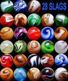 slag marbles - Google Search
