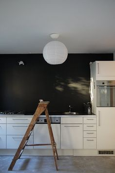 Kitchen renovation   Black