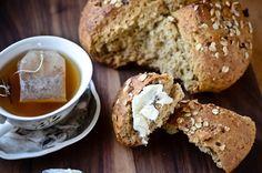blissful eats with tina jeffers: hazelnut honey oatbread