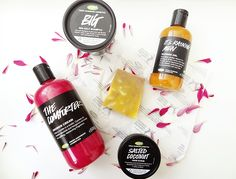 5 from Lush - my latest purchases online and in store Lush Haul, Beauty Review, Skin Care, Cream, Makeup, Creme Caramel, Maquillaje, Face Makeup, Make Up