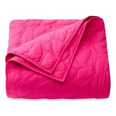 NEW DVF STUDIO SCATTERED STONES Full Queen LILAC ROSE QUILT COVERLET $129