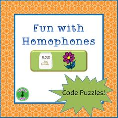 These puzzles are great for a warm up activity or for practice any time. Students work in pairs or small groups to answer the clues to reveal the four homonym pairs, and then unscramble the circled letters to reveal a fifth pair of homonyms. Then they work together to write their own clues to the fifth pair for another  group to solve. Six different puzzles in total, two of which are slightly more challenging. Great for English language learners for  pronunciation!