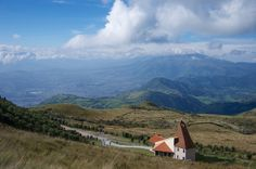 The Chapel at Cruz Loma and the Lloa Valley by robnunn, via Flickr