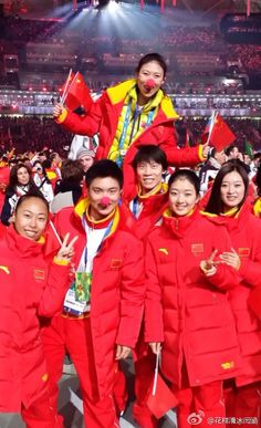 Team China from Yan Han official weibo.