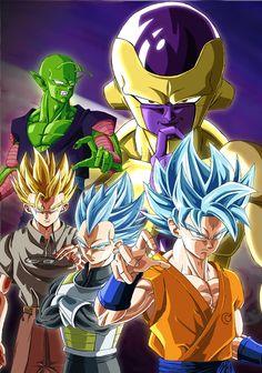 Dragon Ball Z「復活の『F』」/「グレイモン」のイラスト [pixiv]