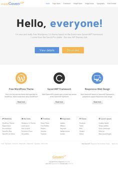 Gavern WP Theme
