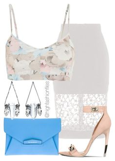 """""""Summer Floral"""" by highfashionfiles ❤ liked on Polyvore"""
