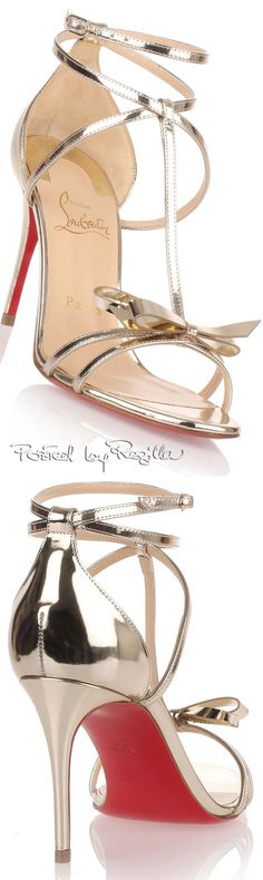 Christian Louboutin OFF! Regilla ⚜ C. Pretty Shoes, Beautiful Shoes, Cute Shoes, Me Too Shoes, Stilettos, Pumps, Louboutin High Heels, Christian Louboutin Outlet, Manolo Blahnik Heels