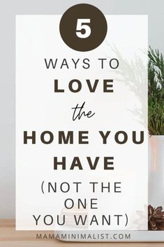 Slow living starts at home because - when we're home and happy - we are less likely to alleviate boredom by purchasing unnecessary items. On this episode of The Sustainable Minimalists podcast: 10 tips to save money, foster an emotional connection to your home   learn to absolutely love your space (despite its potential quirks!).