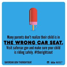 Many parents don't realize their child is in THE WRONG CAR SEAT  http://ift.tt/1h6EsOQ #therightseat #pin
