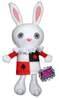 Alice in Wonderland: White Rabbit Plush by Funko, http://www.amazon.com/dp/B002X9UGZ0/ref=cm_sw_r_pi_dp_aOF8pb02R1NYA